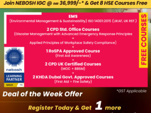 Great Offer On NEBOSH Course in Cochin